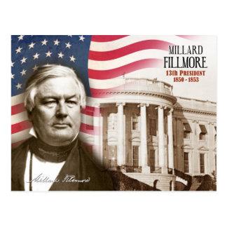 Millard Fillmore - décimotercero presidente de los Postales
