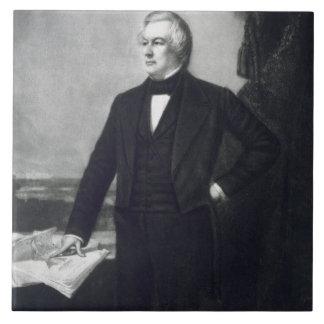 Millard Fillmore, décimotercero presidente del Sta Azulejo Cuadrado Grande