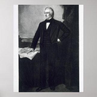 Millard Fillmore, décimotercero presidente del Sta Posters