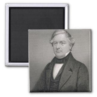 Millard Fillmore, grabado por Thomas B. Welch (181 Imán De Nevera