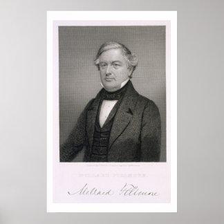 Millard Fillmore, grabado por Thomas B. Welch (181 Poster
