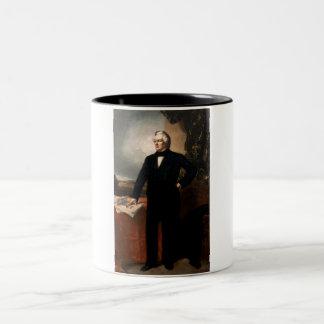 Millard Fillmore Two-Tone Coffee Mug