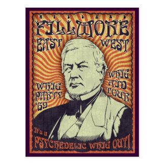 Millard Fillmore - Whig Out! Postcard
