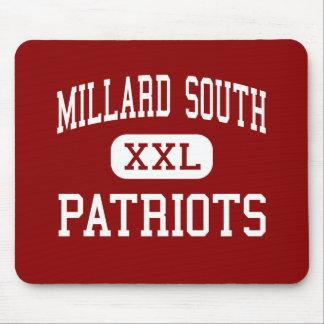 Millard South - Patriots - High - Omaha Nebraska Mouse Pad