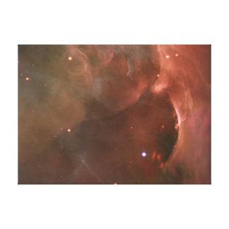 Millares de la NASA de la nebulosa de Orión de Impresión En Lienzo