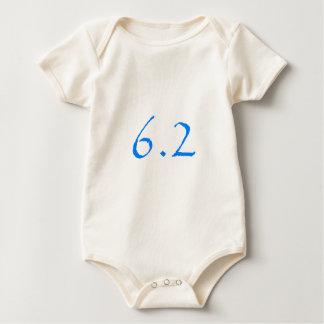 millas 10k traje de bebé