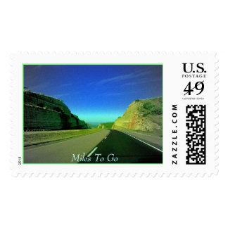 Millas a ir timbres postales