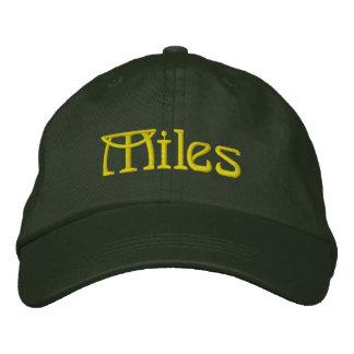 MILLAS dadas el casquillo del diseñador conocido Gorra De Beisbol
