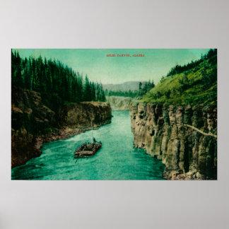 Millas de barranco, opinión de Alaska con los homb Póster