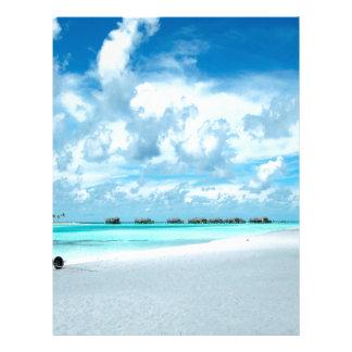 Millas Maldivas de la playa Membrete