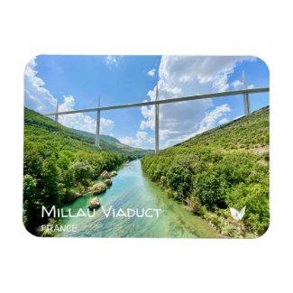 Millau Viaduct, France, fridge magnet