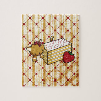 Mille Feuille Kitty Jigsaw Puzzles