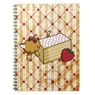 Mille Feuille Kitty Spiral Note Book