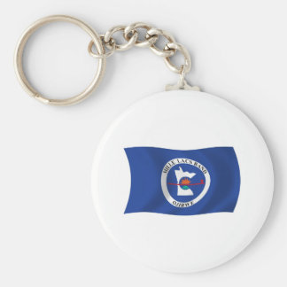 Mille Lacs Band Reservation Flag Keychain