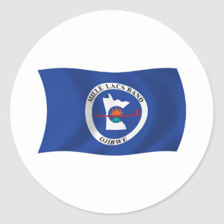 Mille Lacs Band Reservation Flag Sticker