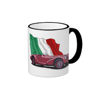 Mille Miglia 1937 Ringer Coffee Mug