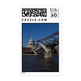 Millenium Bridge and St Paul's Cathedral Postage