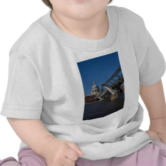 Millenium Bridge and St Pauls Cathedral T-shirts