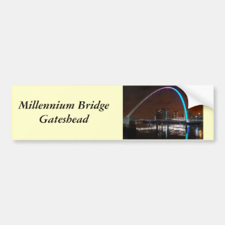Millenium Bridge, Gateshead Bumper Sticker