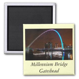 Millenium Bridge, Gateshead Magnets