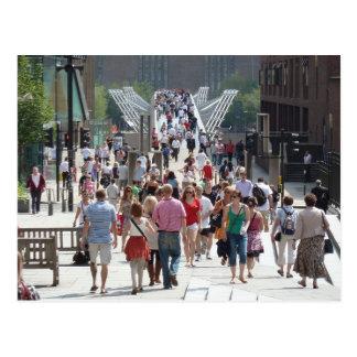 Millenium Bridge, London Postcard