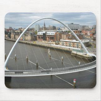 Millenium Bridge Newcastle England Mouse Pad