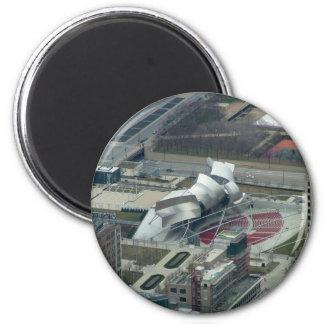 Millenium Park Fridge Magnet