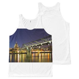Millennium Bridge All-Over-Print Tank Top