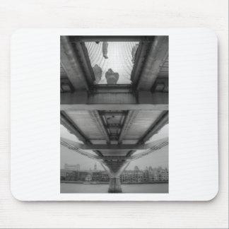 Millennium Bridge BW Mouse Pad