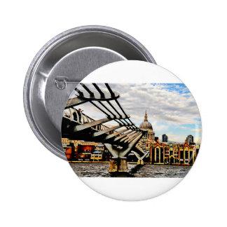 Millennium Bridge - London Button