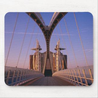 Millennium Bridge, Lowry Centre, Salford Mouse Pad