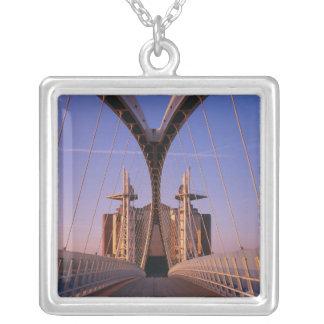 Millennium Bridge, Lowry Centre, Salford Personalized Necklace