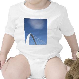 Millennium Bridge Newcastle  England Vest Shirt