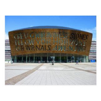 Millennium Centre Cardiff Wales Post Cards