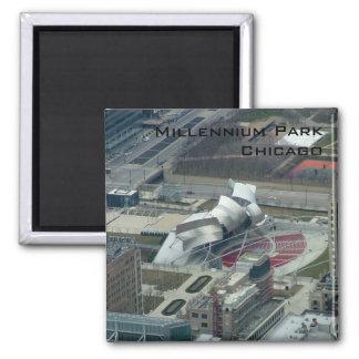 Millennium Park 2 Inch Square Magnet