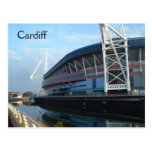 Millennium Stadium de Cardiff Tarjeta Postal