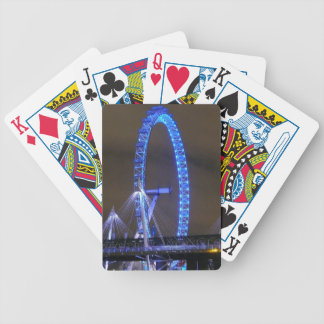 Millennium Wheel London Bicycle Playing Cards