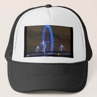 Millennium Wheel London Trucker Hat