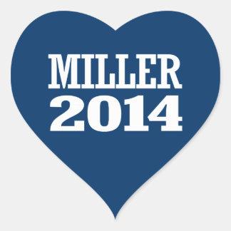 MILLER 2014 STICKER