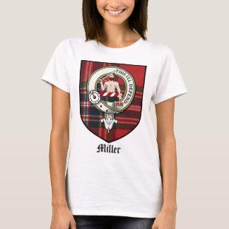 Miller Clan Crest Badge Tartan T-Shirt