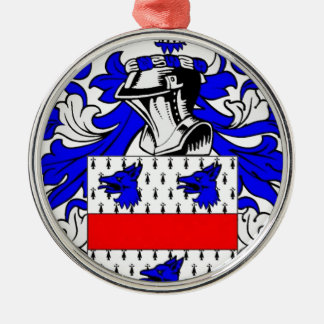 Miller (English) Coat of Arms Christmas Ornament