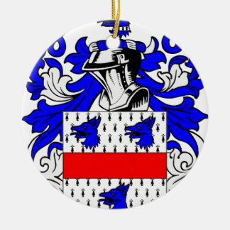 Miller (English) Coat of Arms Christmas Tree Ornament