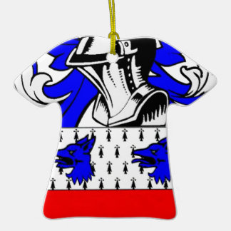Miller (English) Coat of Arms Christmas Tree Ornaments