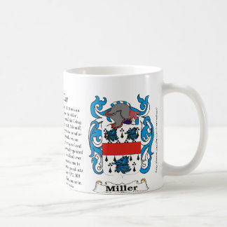 Miller Family Coat of Arms mug