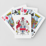 Miller Family Crest Bicycle Poker Cards