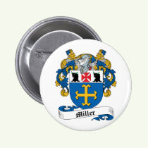Miller Family Crest Button