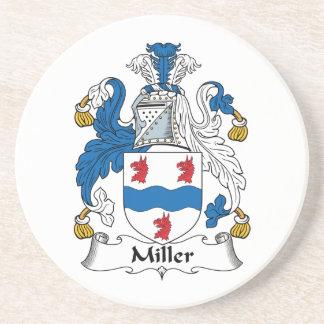 Miller Family Crest Coaster