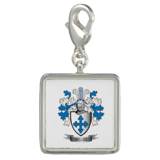 Miller Family Crest Coat of Arms Charms