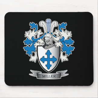 Miller Family Crest Coat of Arms Mouse Pad
