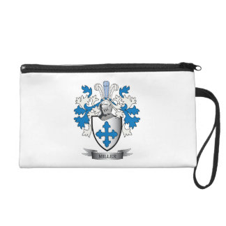 Miller Family Crest Coat of Arms Wristlet Purse
